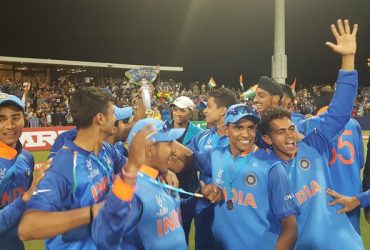India U19 Players congratulated by Shahid Afridi