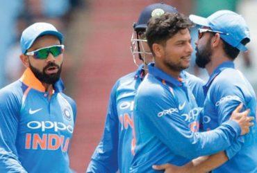 Indian bowler Kuldeep Yadav