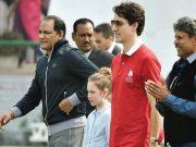 Mohammad Azharuddin, Kapil Dev and Canada PM Justin Trudeau