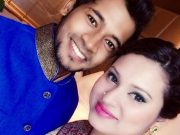 Mushfiqur Rahim with his wife