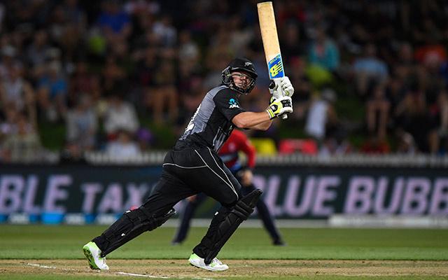 New Zealand batsman Colin Munro
