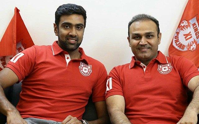 Ravi Ashwin & Virender Sehwag