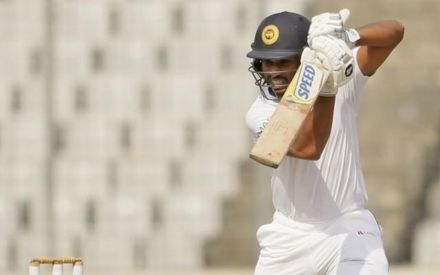 Sri Lankan cricketer Roshen Silva