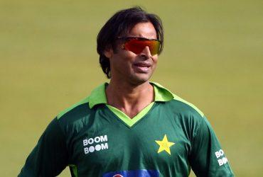 Shoaib Akhtar of Pakistan