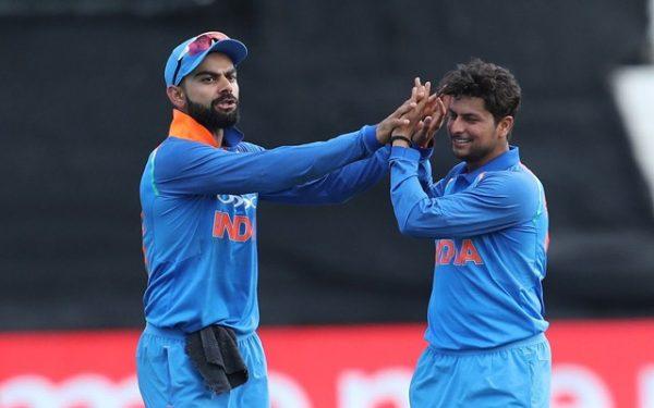 Virat Kohli & Kuldeep Yadav