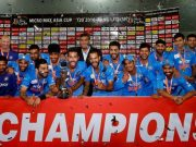 Winning Asia Cup in Bangladesh, 2016
