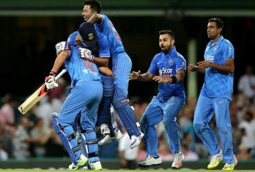 Australia vs India sydney, january 2016