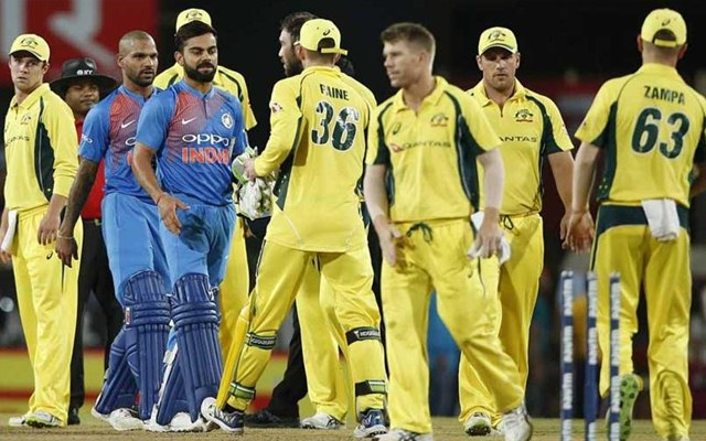 India vs Australia T20I Ranchi, October 2017