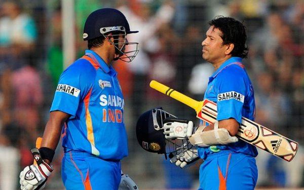 Sachin Tendulkar & Suresh Raina