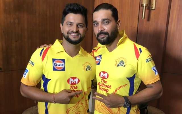 Suresh Raina & Murali Vijay