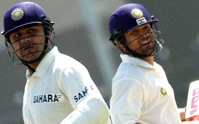 Virender Sehwag & Sachin Tendulkar