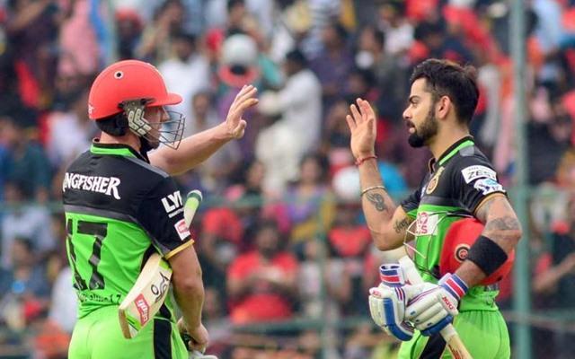 AB de Villiers & Virat Kohli, cricketers and super heroes