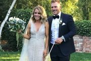 Aaron Finch and Amy Griffiths