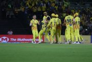 Chennai Super Kings in the IPL
