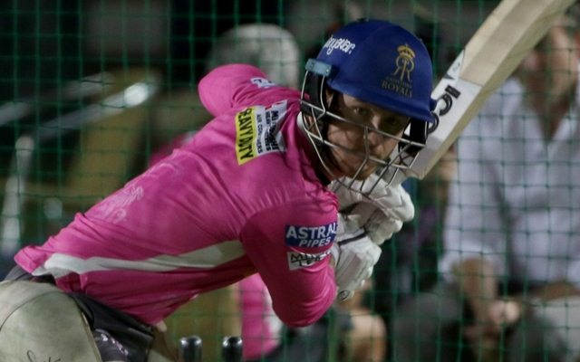 D'Arcy Short of Rajasthan Royals