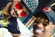 Dwayne Bravo & Harbhajan Singh