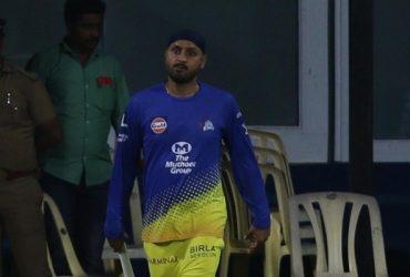 Harbhajan Singh of Chennai Super Kings