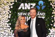 Mr & Mrs Guptill at the NZ cricket awards