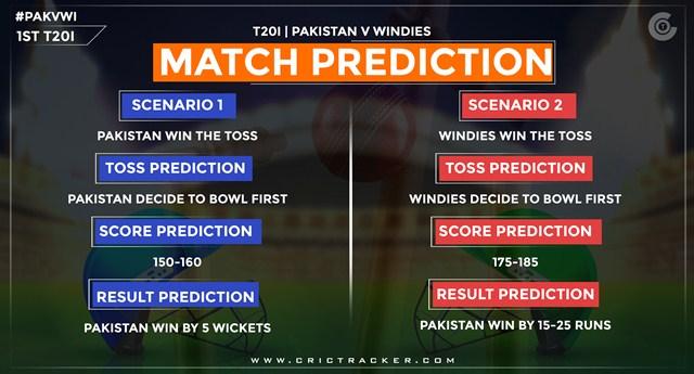 PAK vs WI match prediction