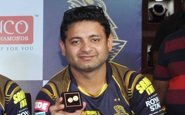 Piyush Chawla during a promotional programme in Kolkata