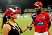 Preity Zinta and KL Rahul