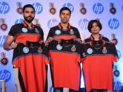 RCB jersey in the IPL 2018