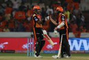 Shikhar Dhawan & Kane Williamson of SRH