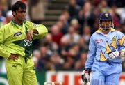 Shoaib Akhtar & Sachin Tendulkar