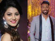 Urvashi Rautela & Hardik Pandya.