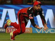 Virat Kohli takes a catch