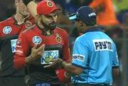Virat Kohli fumes at umpires