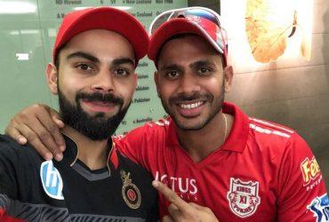 Virat Kohli and Manoj Tiwary
