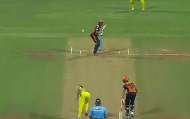 Deepak Chahar ball