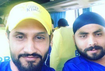 Harbhajan Singh & Ravindra Jadeja