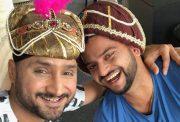Harbhajan Singh & Suresh Raina