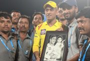 MCA, Pune groundstaff has a special gift for MS Dhoni