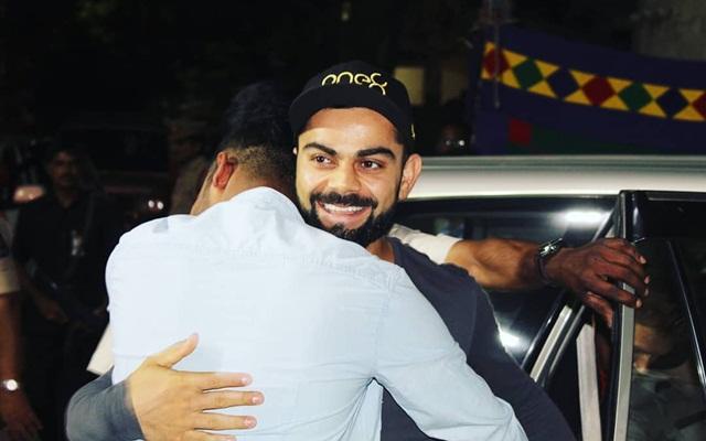 Mohammed Siraj & Virat Kohli