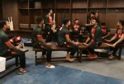 Bangladesh players dressing room