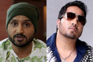 Harbhajan Singh and Mika Singh