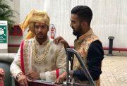 KL Rahul with Mayank Agarwal