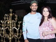 Mandeep Singh and his wife