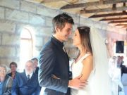 Rilee Rossouw with his wife