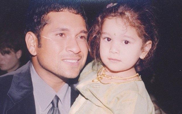 Sachin Tendulkar and Sara Tendulkar