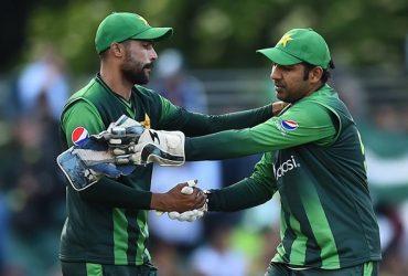 Sarfraz Ahmed and Mohammad Amir