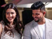 Suresh Raina and Priyanka
