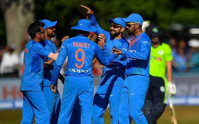 Team India in Ireland