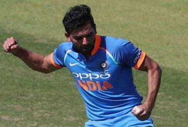 India A's Deepak Chahar