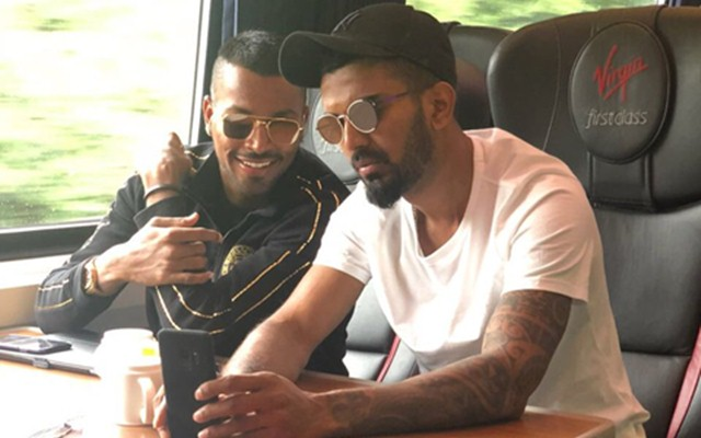 KL Rahul and Hardik Pandya