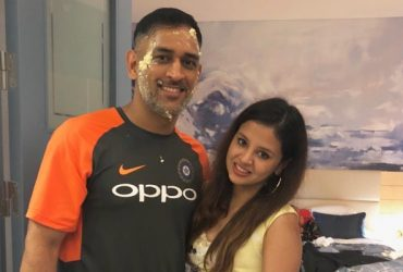 MS Dhoni and Sakshi