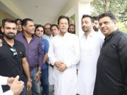 Mohammad Hafeez and Imran Khan